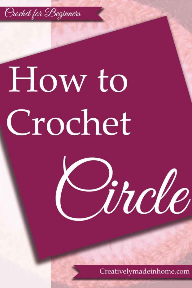 How to crochet Circle