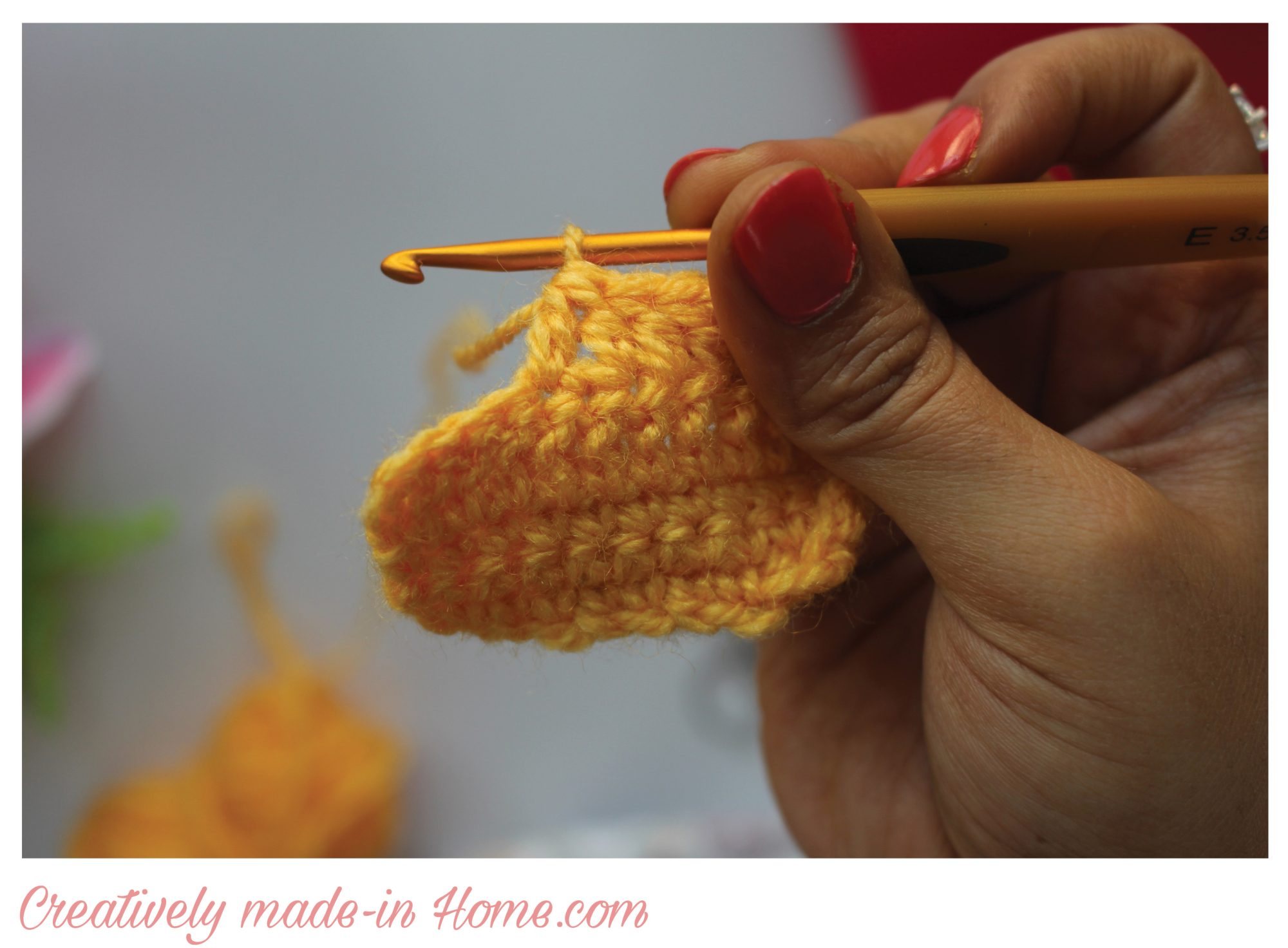 Shaping Crochet By Decreases Creatively Made In Home