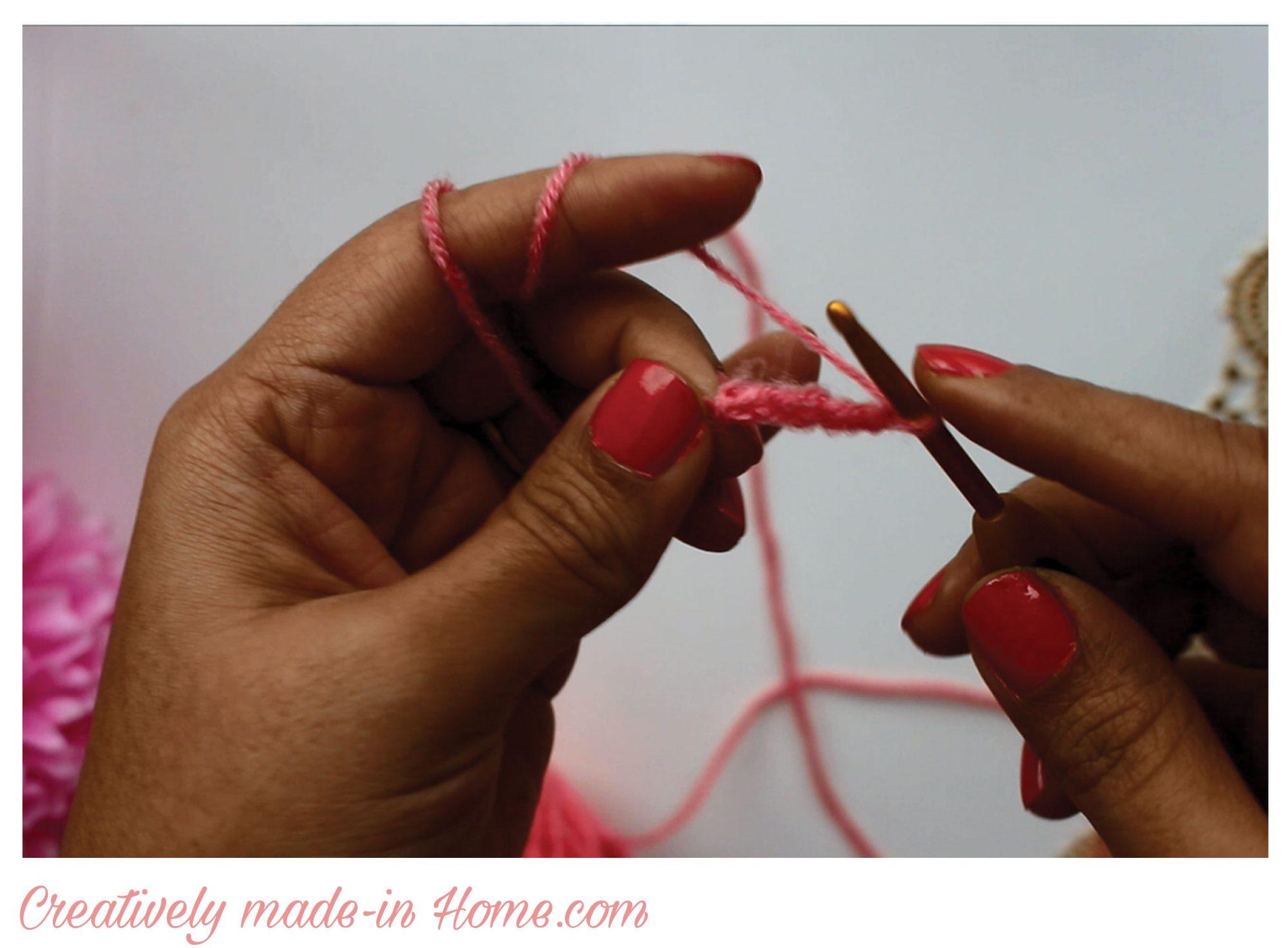 How To Make A Crochet Magic Ring - Ambassador Crochet   2030x2758