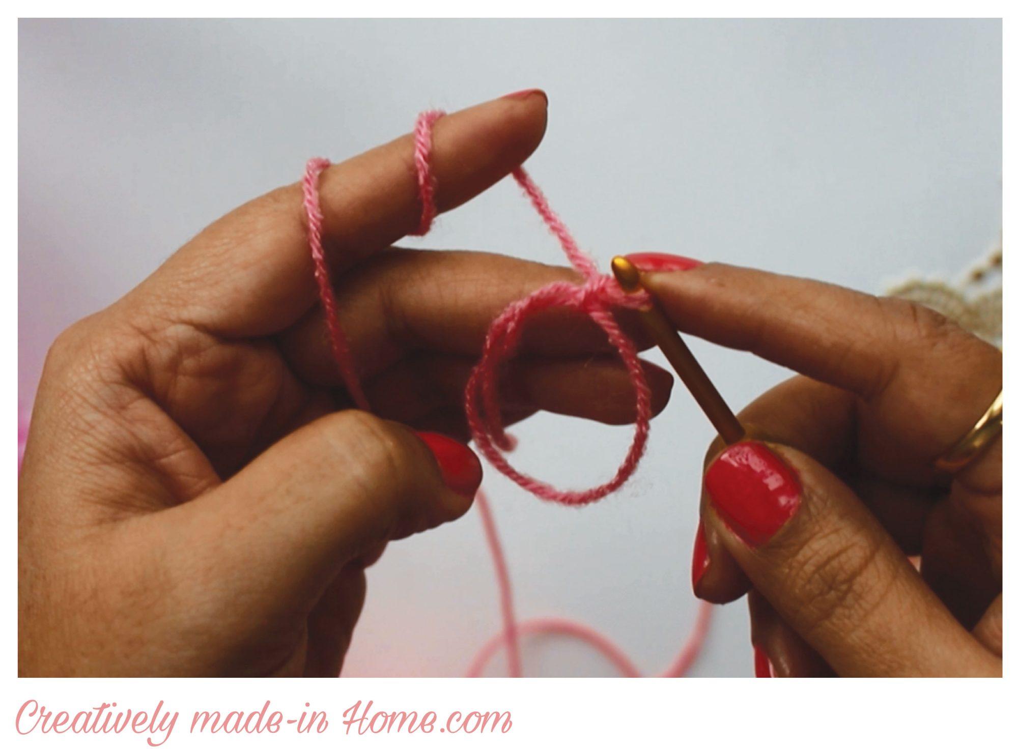 magic ring crochet