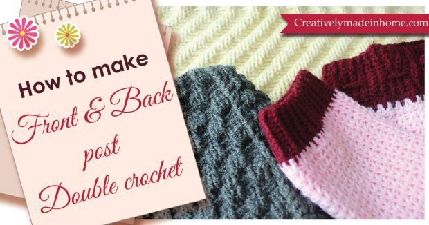 Front-&-Back-post-double-crochet