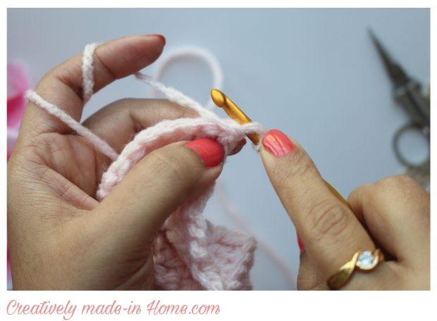 Wrap loop around hook