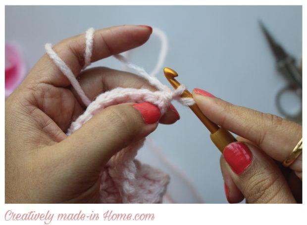 draw yarn out