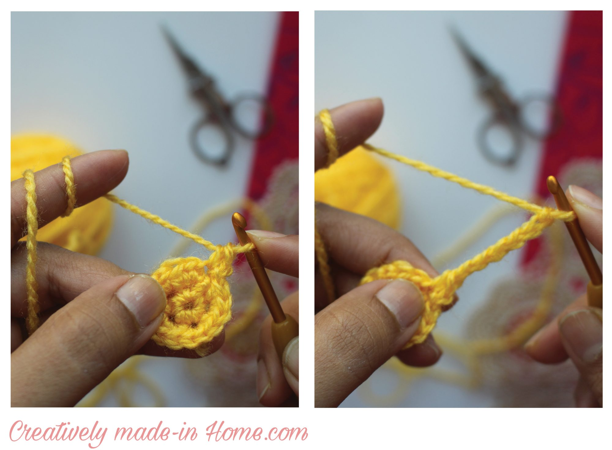 How To Crochet 5 Point Star Creatively Made In Home