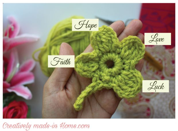 How-to-crochet-lucky-4-leaves-Clover-step 14
