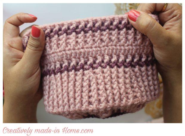 complete crochet cap