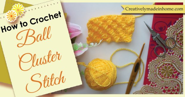 How to crochet Ball stitch