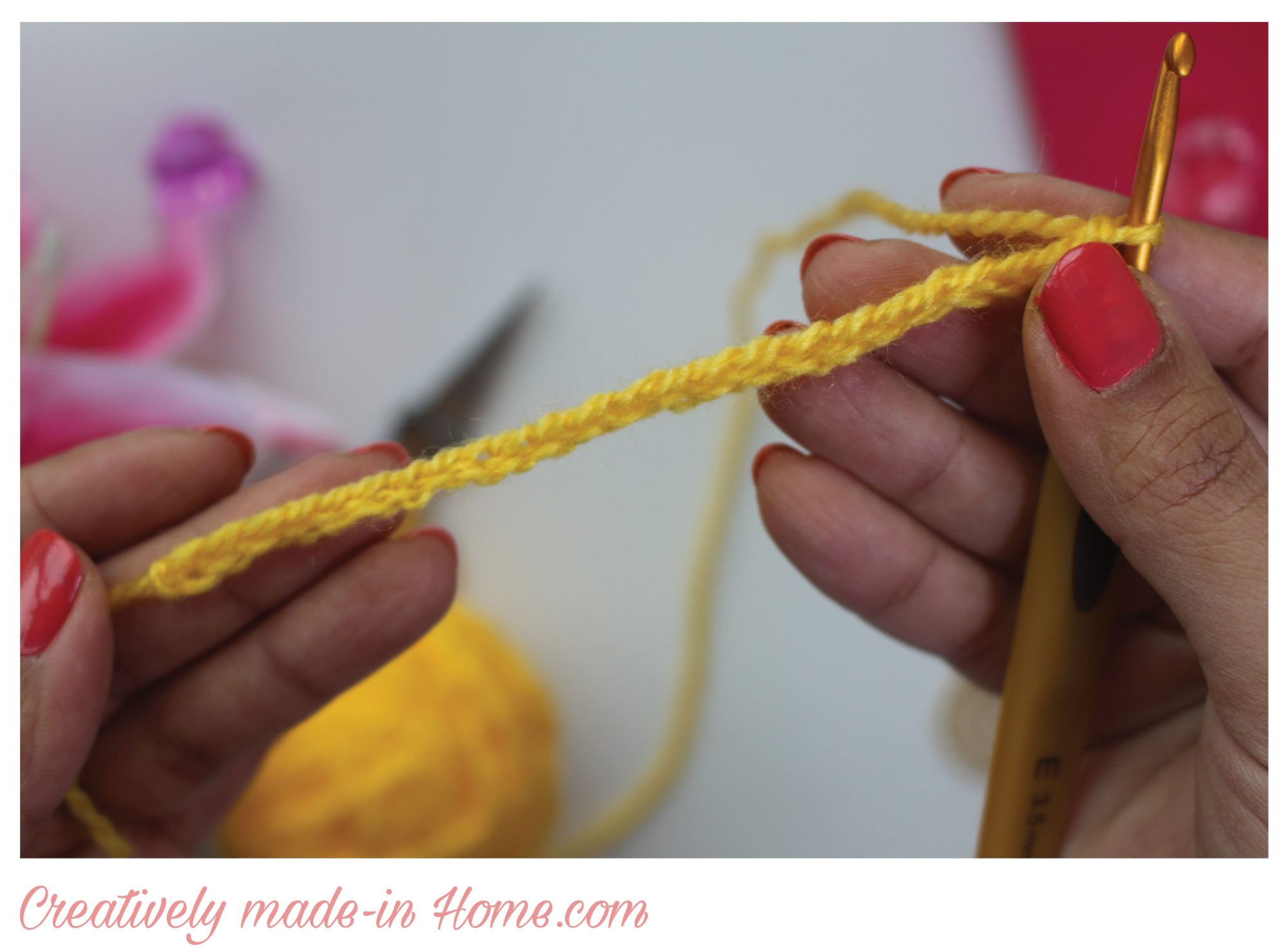 How to crochet Soft Cluster - Creatively made-in Home