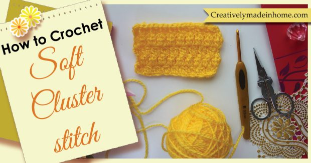How to make Soft Cluster Stitch