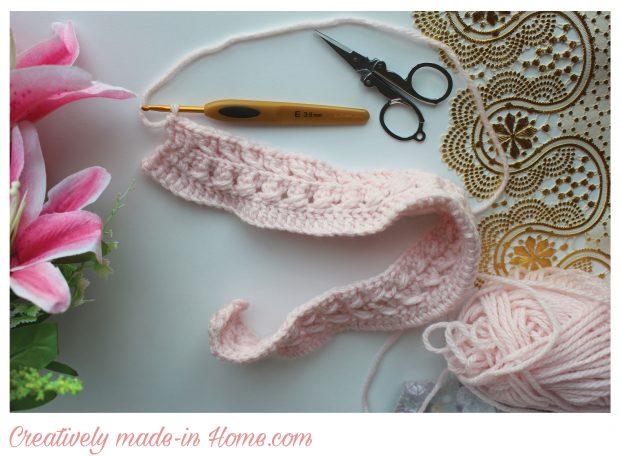 How-to-make-crochet-jacket-for-infant--Step-08
