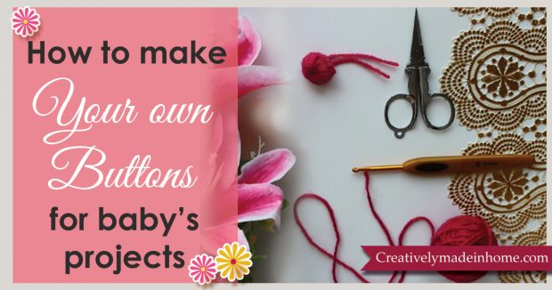 How to make yarn buttons