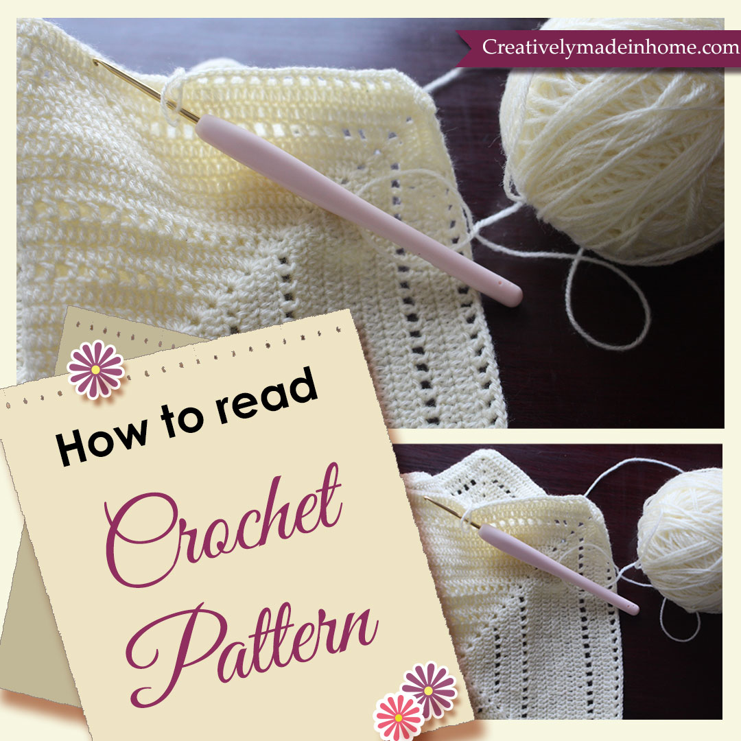 Crochet pattern how to read manet for how to read crochet patterns creatively made in home bankloansurffo Images