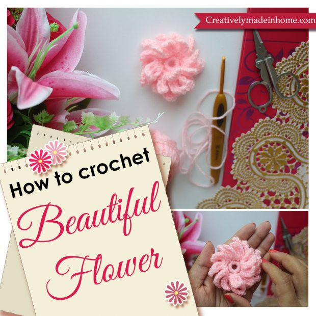 How to make 3 dimensional flower