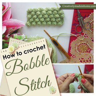 How to make Bobble stitch