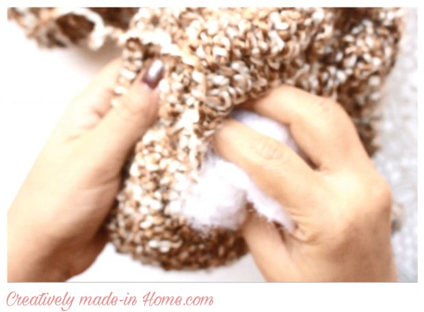 How to make easy crochet Travel Pillow-06