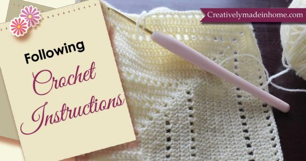 Following Crochet Instructions