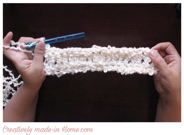 How to crochet easy modern scarf-05