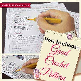 how to select good crochet pattern