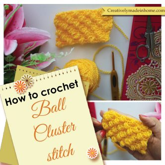 How to make Ball stitch