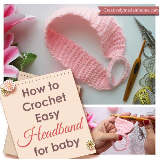 How to crochet easy Headband